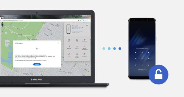 App Samsung Find My Mobile aggiornamento localizzazione offline