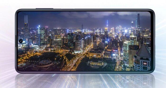 Display design Galaxy M51