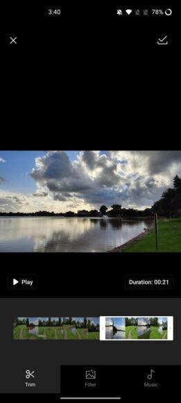 Editing App OnePlus Gallery 4K