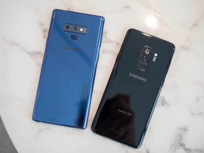 Galaxy S9 e Galaxy Note 9 aggiornamento One UI 2.5 i rumors