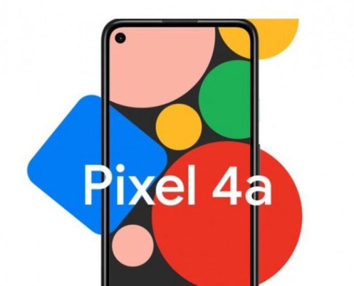 Google Pixel 4A display e forellino