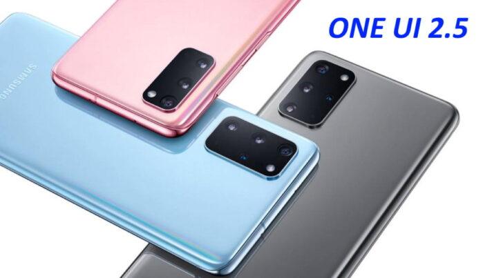 Samsung Galaxy S20 One Ui 2.5