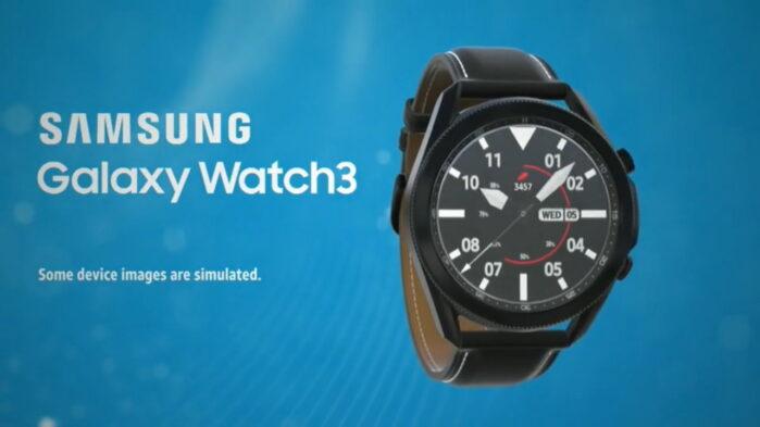 Samsung Galaxy Watch3 video promo caratteristiche