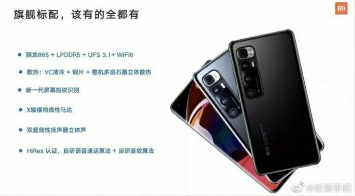 Specifiche Xiaomi MI 10 Ultra