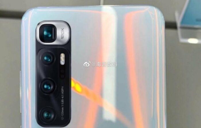 Xiaomi MI 10 Ultra immagini dal vivo colore Bianco