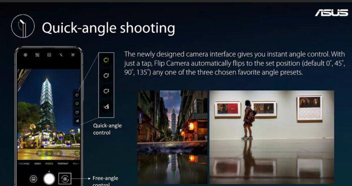 Zenfone 7 software camera