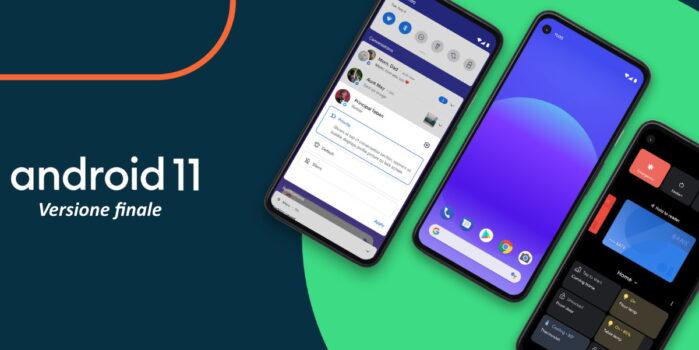 Android 11 stabile aggiornamento disponibile sui Google Pixel