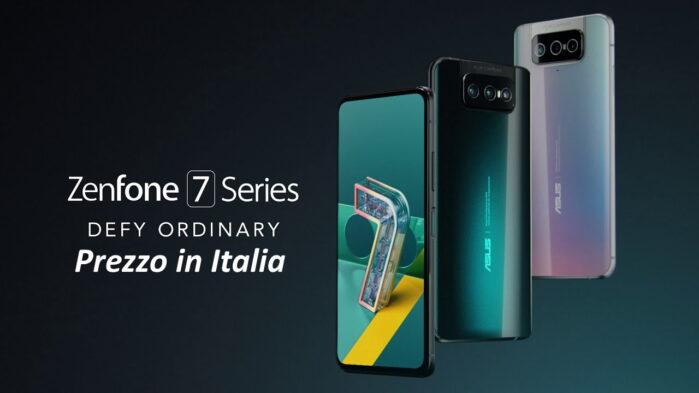 Asus Zenfone 7 e 7 Pro prezzo ufficiale in Italia
