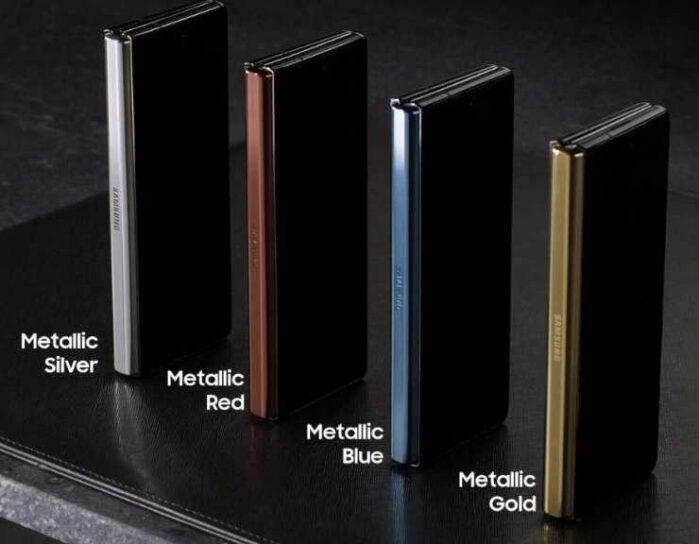 Cerniere colorate Galaxy Z fold 2 5G