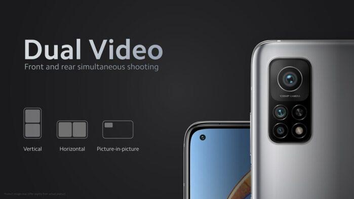 Dual Video Mi 10T
