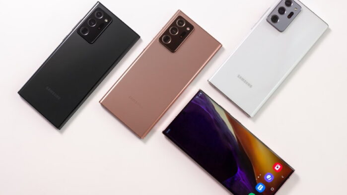 Galaxy Note 20 Ultra aggiornamento firmware fotocamera settembre-ottobre 2020