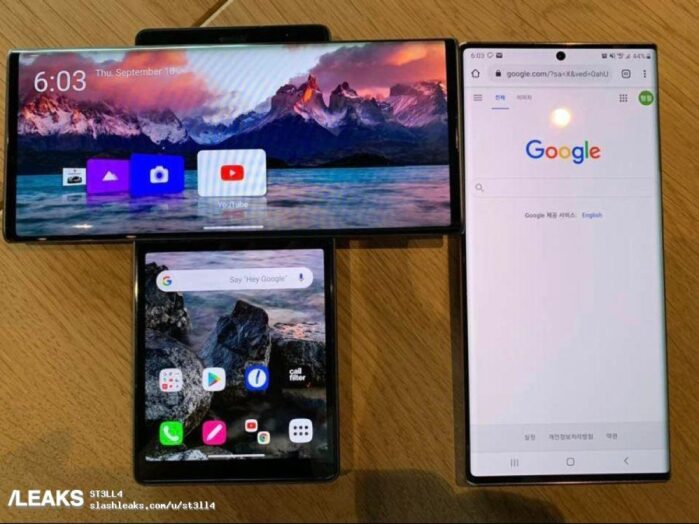 LG Wing vs Galaxy Note 20 2
