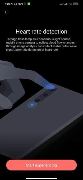 Mi Health monitoraggio frequenza cardiaca 1