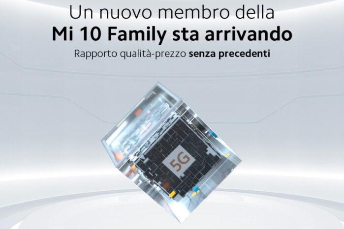 Nuovo Xiaomi MI 10 5G molto economico in arrivo a settembre 2020