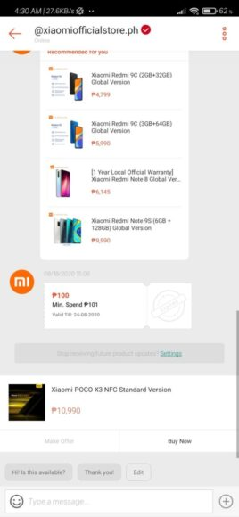 Poco X3 NFC prezzi