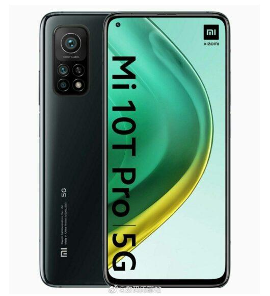 Xiaomi MI 10T Pro design 2
