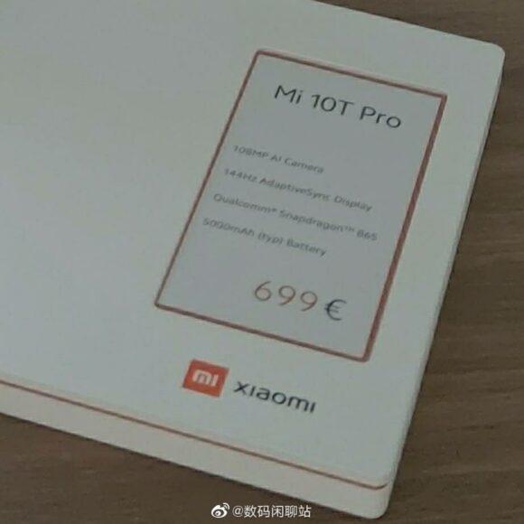 Xiaomi MI 10T Pro prezzo Europa