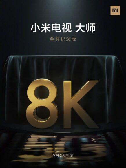 Xiaomi MI TV 8K mini LED con modem 5G in arrivo a settembre 2020