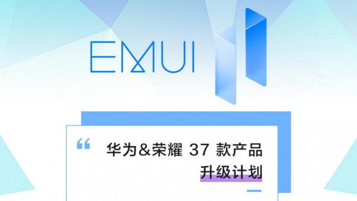 Huawei EMUI 11 roadmap aggiornata smartphone e tablet honor aggiornamento