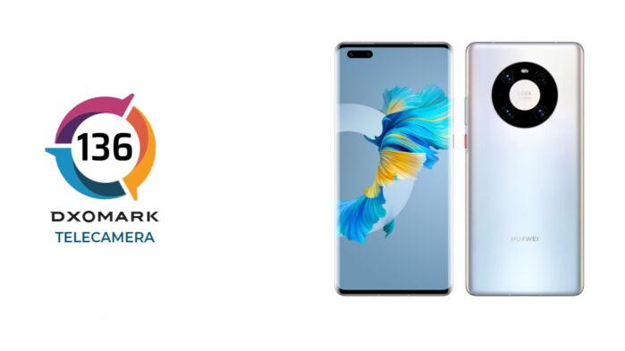 Huawei Mate 40 Pro miglior camera per DxOMark