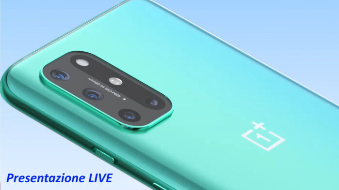 OnePLus 8T presentazione live