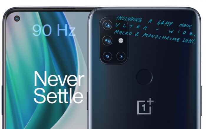 OnePLus Nord N10 5G ufficiale
