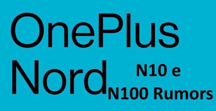 OnePlus Nord N10 e N100 rumors