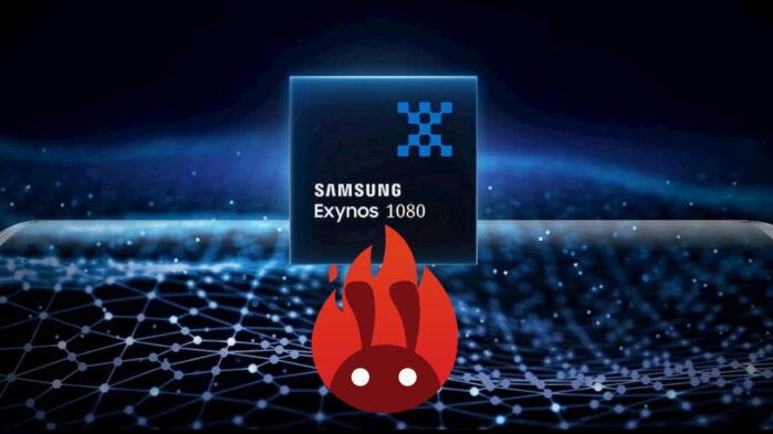 Samsung Exynos 1080 primo benchmark su AnTuTu