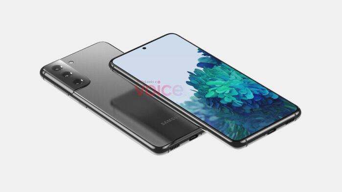 Samsung Galaxy S21 immagini render 3D ufficiose