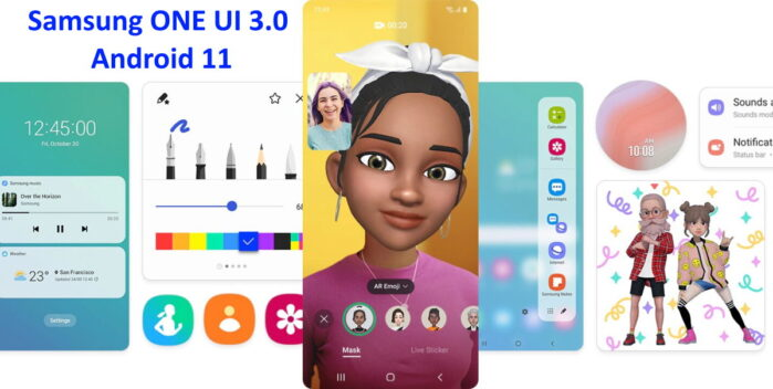 Samsung ONE UI 3.0 Android 11