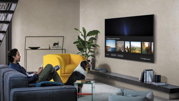 Samsung Smart TV 2020 Assistente Google