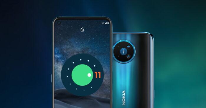 Smartphone Nokia aggiornamento Android 11 roadmap svelata