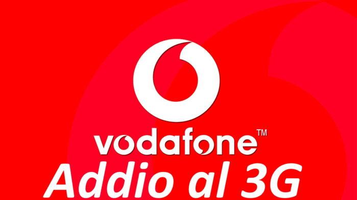 Vodafone spegne il segnale banda 3G in Italia