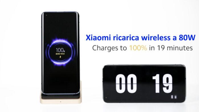 Xiaomi Ricarica wireless a 80W video