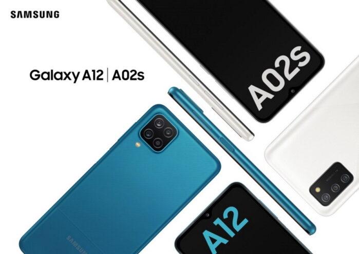 Galaxy A12 e Galaxy A02S annunciati