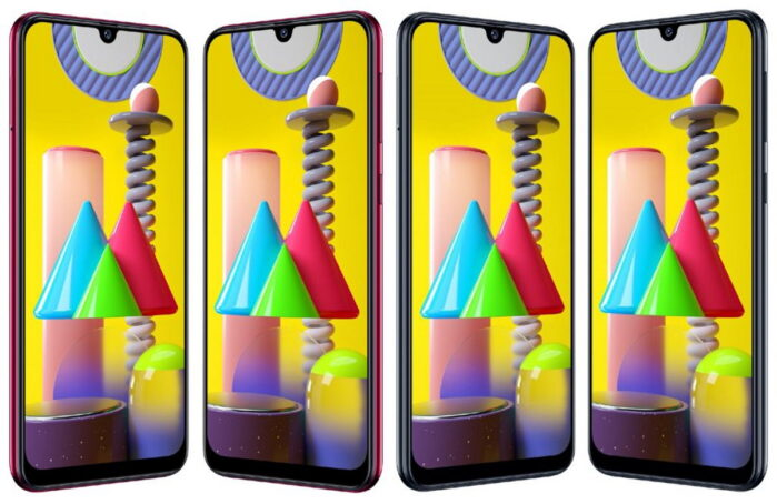Galaxy M31 aggiornamento ONE UI 2.5
