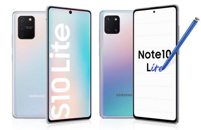 Galaxy S10 Lite e Galaxy Note 10 Lite aggiornamento novembre 2020