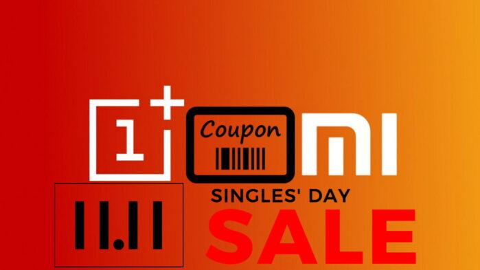 Offerte coupon OnePlus e Xiaomi Single Day 11.11 novembre 2020
