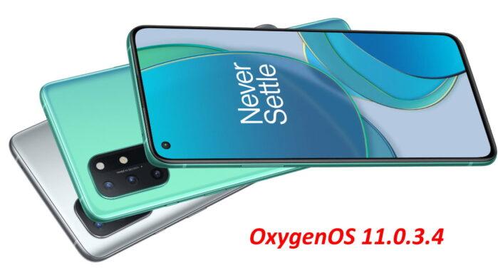 OnePLus 8T aggiornamento novembre 2020 OxygenOS 11.0.3.4