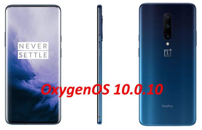 OnePlus 7 Pro e 7 aggiornamento OxygenOS 10.0.10