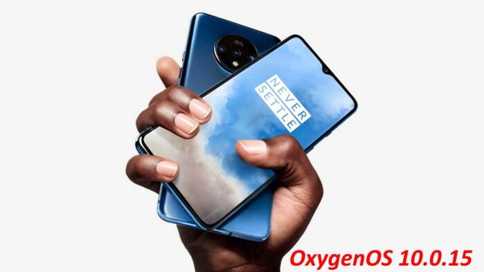 OnePlus 7T OxygenOS 10.0.15