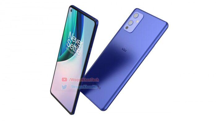 OnePlus 9 colore blu