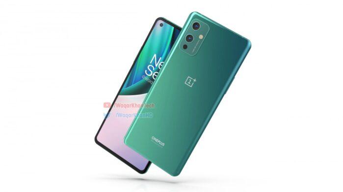 OnePlus 9 colore verde