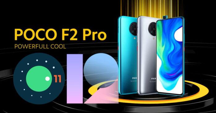 Poco F2 Pro aggiornamento Android 11 MIUI 12 Stabile