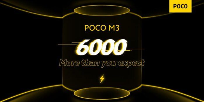 Poco M3 batteria