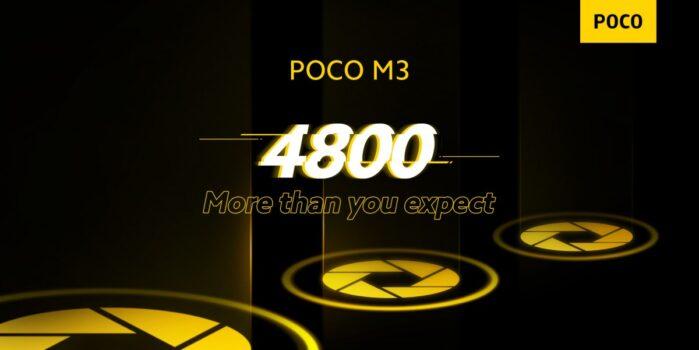 Poco M3 fotocamera