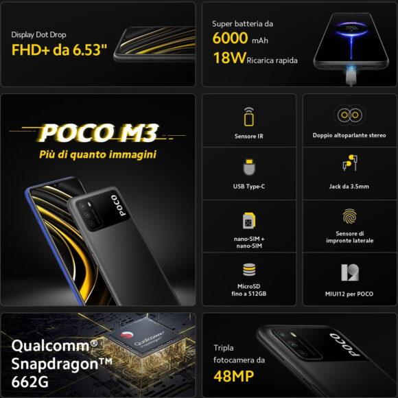 Poco M3 specifiche complete