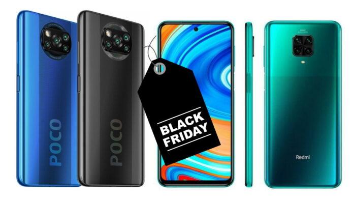 Poco X3 NFC Redmi Note 9 Pro e Redmi 9c offerta Black Friday Gearbest