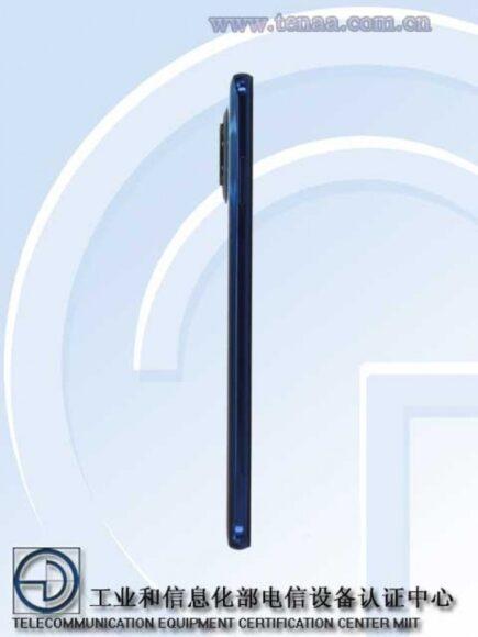 Redmi Note 9 5G Pro laterale