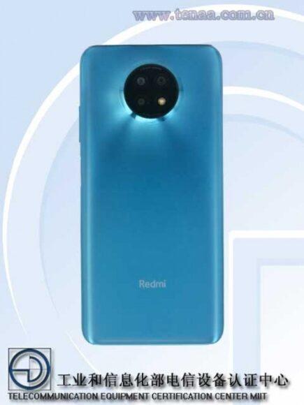 Redmi Note 9 5G posteriore